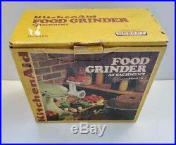 Vintage Kitchenaid Hobart Model FG METAL Food Meat Grinder Attachment FreeUShip