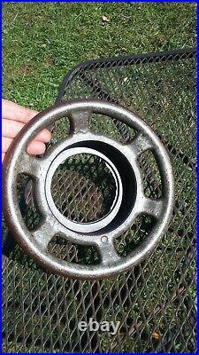 Vintage hobart commercial meat grinder screw on ring cap