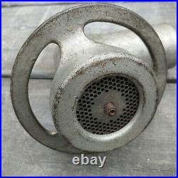 Vintage hobart meat grinder fine attachment #12 commerical kitchen restaurant